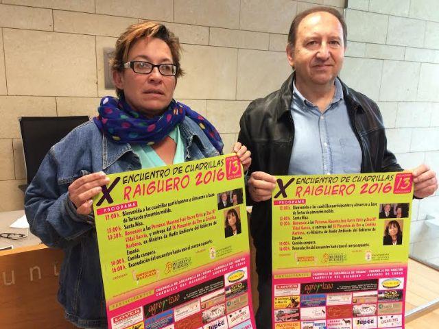 Video. El X Encuentro de Cuadrillas de El Raiguero 2016 se celebra el domingo 13 de noviembre