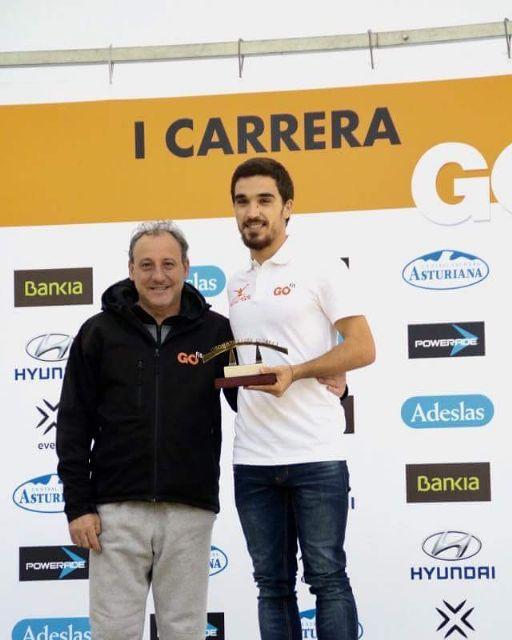 El deportista murciano Jaime Martínez, premiado en la carrera GO fit - 1, Foto 1