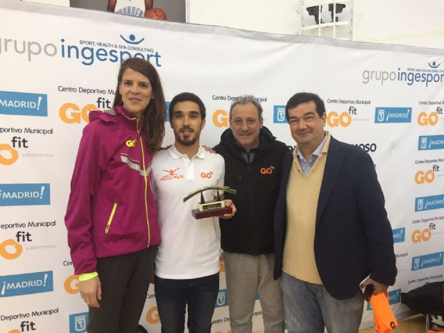 El deportista murciano Jaime Martínez, premiado en la carrera GO fit - 2, Foto 2