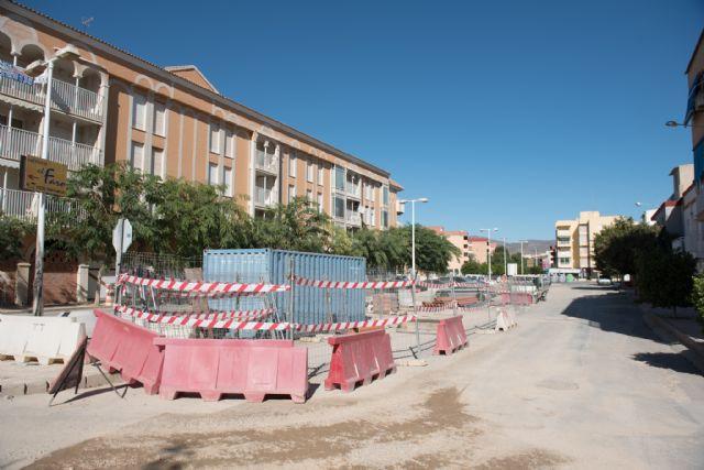Acondicionan las calles Emperador, Totana y Ana Méndez en Puerto de Mazarrón, Foto 2