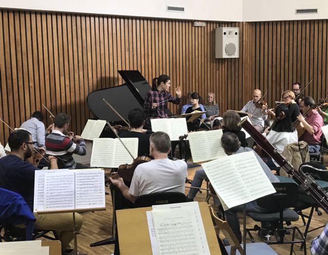La Orquesta Sinfónica de la Región ofrece mañana un concierto en Águilas con la pianista japonesa Aya Sakamoto - 1, Foto 1