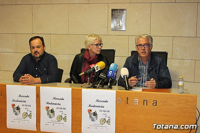 The Totana Modernist Market will be held from November 16 to 18 in the squares of the Constitution and Old Raft, Foto 2