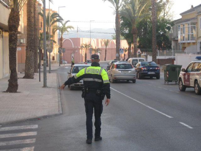 La Comunidad Autónoma forma a 35 policías locales de Totana, Alhama, Mazarrón y Águilas en detección de drogas en conductores durante unas jornadas que se celebran en la Jefatura de Totana, Foto 1