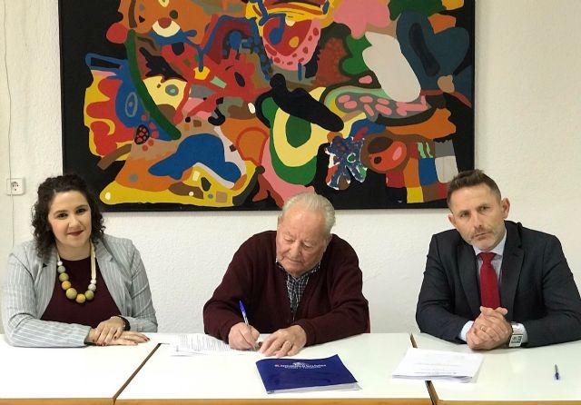 El Ayuntamiento de Torre Pacheco firma un Convenio de Colaboración con la Asociación Local de Pensionistas de San Cayetano - 2, Foto 2