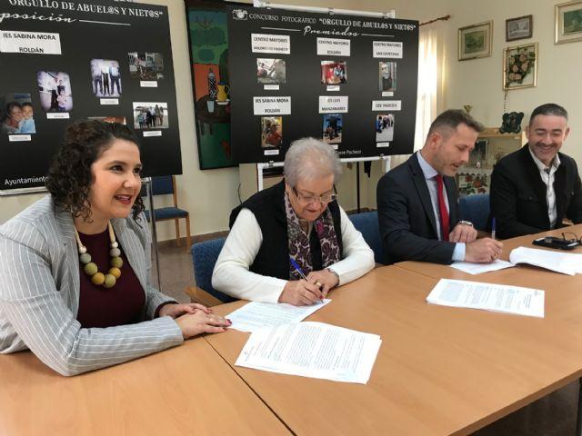 El Ayuntamiento de Torre Pacheco firma un Convenio de Colaboración con la Asociación Local de Pensionistas de Balsicas - 3, Foto 3