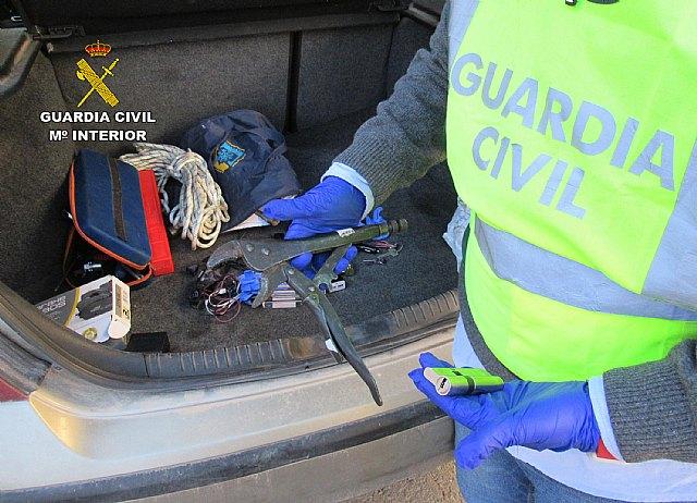 La Guardia Civil esclarece una quincena de robos en comercios de Jumilla - 1, Foto 1