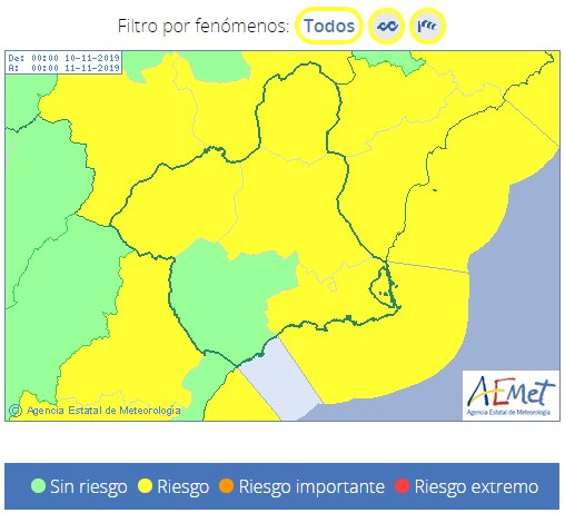 The storm that affects Spain will leave us strong winds tomorrow