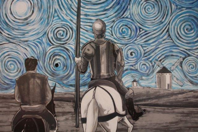 El jardín de Cervantes inaugura su mural dedicado a El Quijote - 3, Foto 3