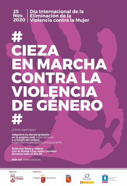 El 25 de noviembre, Cieza te anima a moverte contra la violencia de género - 1, Foto 1