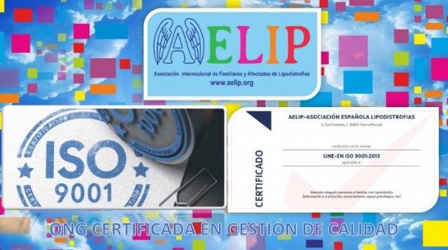 AELIP ya dispone de la certificación ISO 9001 - 1, Foto 1