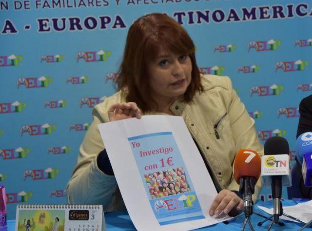 La presidenta de AELIP invita a colaborar en la campaña Yo investigo con 1 euro, Foto 1