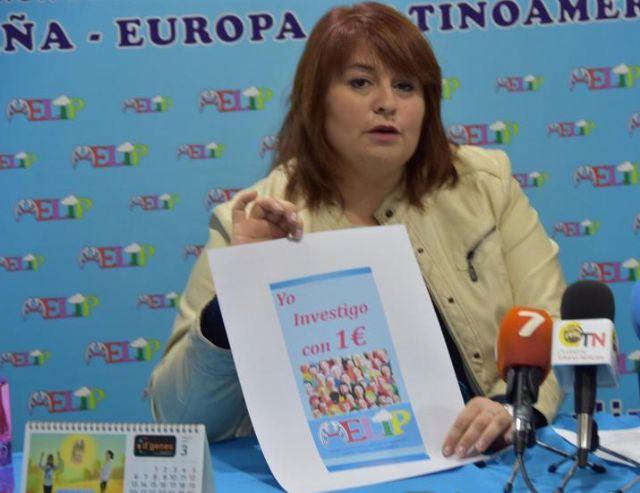 La presidenta de AELIP invita a colaborar en la campaña Yo investigo con 1 euro, Foto 2