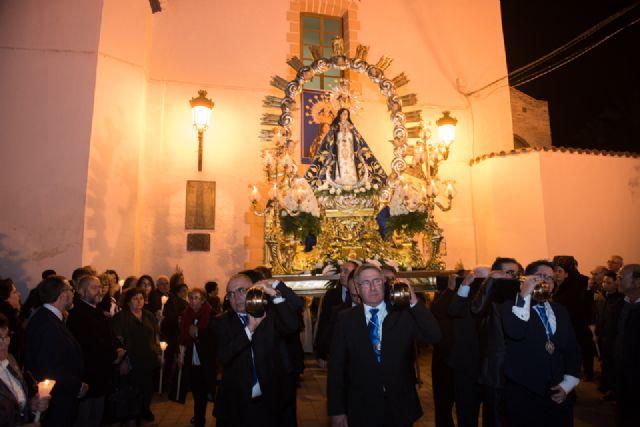Mazarrón muestra devoción a su patrona, Foto 3