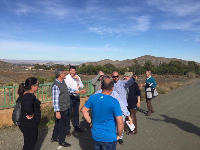 La Comunidad comienza la elaboración del programa de actuaciones prioritarias en la Sierra Minera - 1, Foto 1