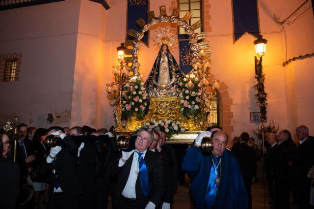 Mazarrón rinde honores a su patrona, Foto 1