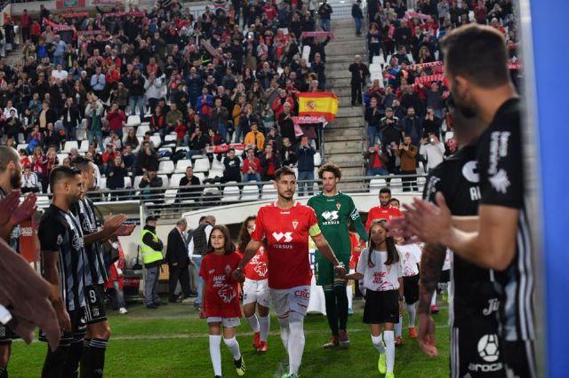 Los niños del Ceutí FC saltan al campo con los jugadores del Real Murcia gracias a La Espada - 2, Foto 2