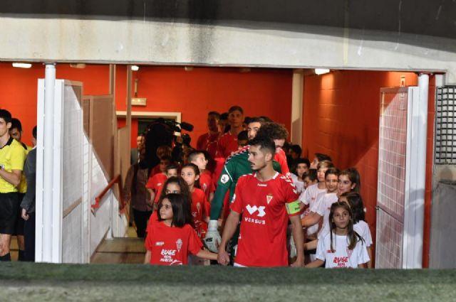 Los niños del Ceutí FC saltan al campo con los jugadores del Real Murcia gracias a La Espada - 4, Foto 4