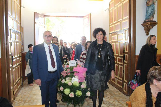 Los vecinos de El Esparragal-La Estación homenajean a su patrona con la ofrenda floral - 1, Foto 1