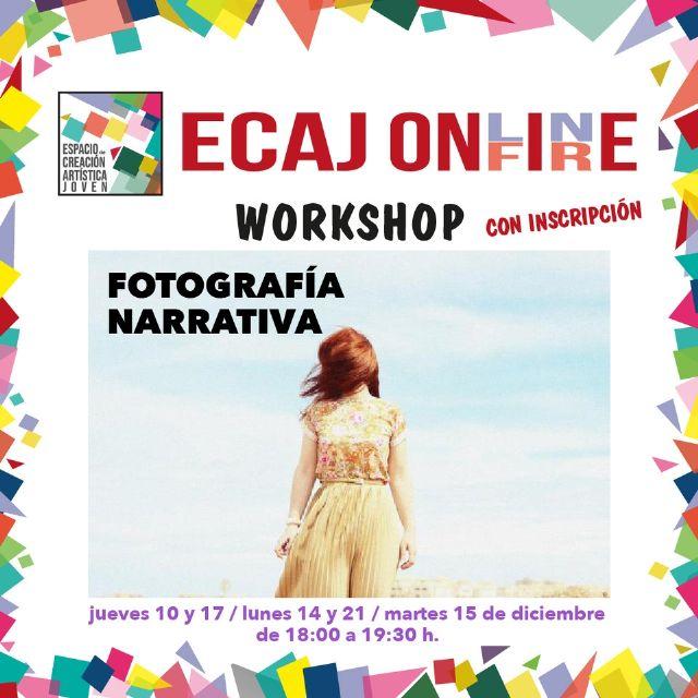 La Concejalía de Juventud de Molina de Segura inicia el jueves 10 de diciembre la formación Workshop: Fotografía narrativa - 1, Foto 1