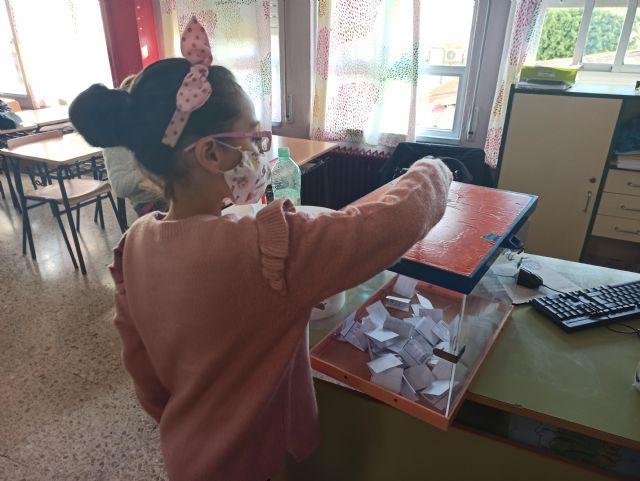 Los alumnos de Alcantarilla eligen a sus representantes en el Órgano de Participación de la Infancia y Adolescencia - 1, Foto 1