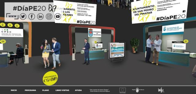 Las concejalías de Empleo y Empresa participan en el DIAPE20, emprendedores de la Región de Murcia - 1, Foto 1