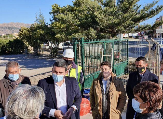 La Comunidad finaliza las obras de los colectores de saneamiento y recogida de pluviales en el casco urbano de Beniel - 1, Foto 1