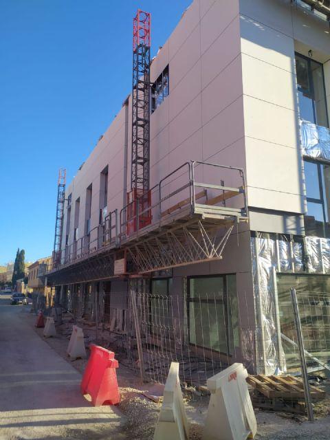 Las obras de la nueva residencia de mayores, con capacidad para casi un centenar de usuarios, entran en su fase final - 2, Foto 2