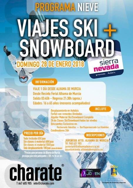 Viaje a Sierra Nevada para practicar ski y snowboard, Foto 2