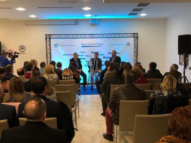 Fulgencio Gil: Lorca es uno de los municipios más saneados y competitivos de España gracias a la bajada de impuestos - 3, Foto 3