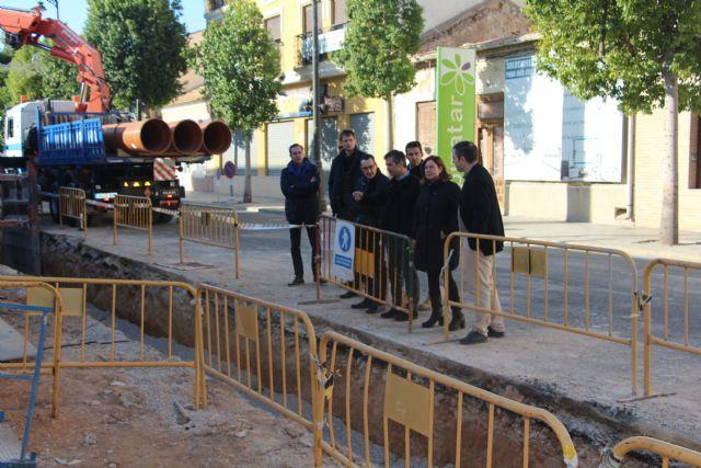 Las obras en los colectores de San Pedro del Pinatar mejorarán la red de saneamiento del centro urbano - 1, Foto 1