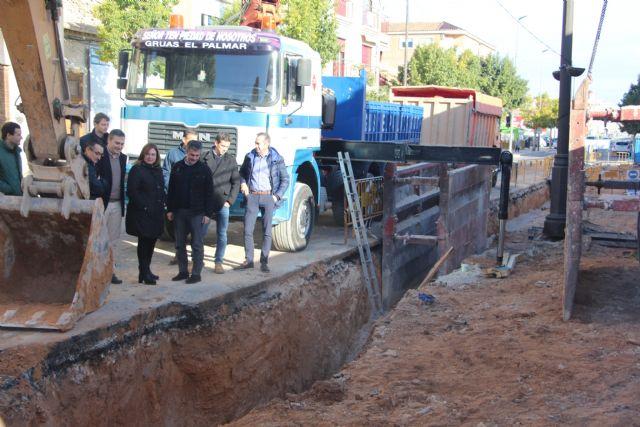 Las obras en los colectores de San Pedro del Pinatar mejorarán la red de saneamiento del centro urbano - 2, Foto 2