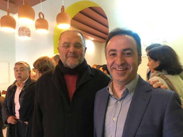 """The mayor of Totana and the Councilor for Tourism attend the presentation of the project """"Murcia 2020, Spanish capital of Gastronomy"""" at the Romea Theater, Foto 6"""