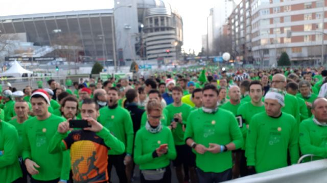 The CAT dismissed the year by participating in the San Silvestres de Vallecas, Murcia and Lorca, Foto 2