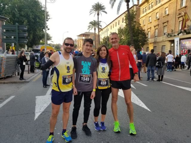 The CAT dismissed the year by participating in the San Silvestres de Vallecas, Murcia and Lorca, Foto 4