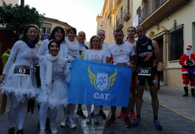 The CAT dismissed the year by participating in the San Silvestres de Vallecas, Murcia and Lorca, Foto 8