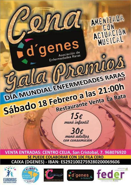 D'Genes will deliver its 2017 Awards on February 18 in the course of a Gala dinner - 1