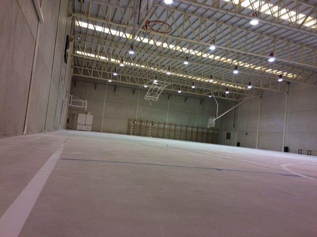 Finalizan las obras de acondicionamiento del pavimento de la Sala Escolar en la pedanía de El Paretón-Cantareros, Foto 3