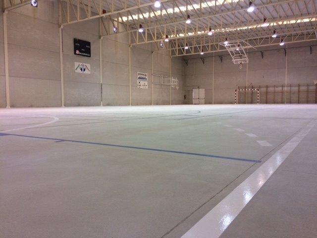 Finalizan las obras de acondicionamiento del pavimento de la Sala Escolar en la pedanía de El Paretón-Cantareros, Foto 4