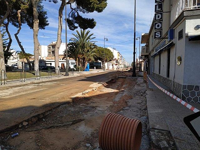 Ciudadanos denuncia que el solapamiento de hasta tres obras en San Pedro del Pinatar tiene paralizado el municipio - 1, Foto 1