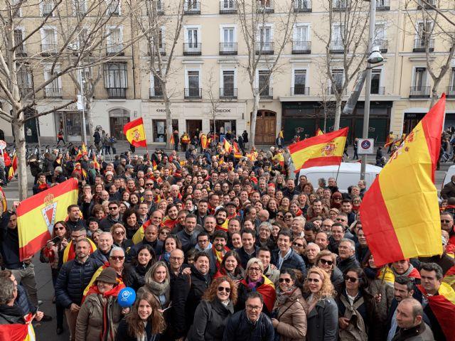 López Miras: A Sánchez solo le queda convocar elecciones tras el clamor de una España en defensa de su unidad - 1, Foto 1