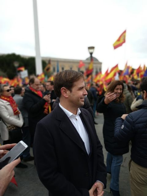 """UPYD participa en la manifestación de Colón: """"Se puede ser progresista y defender la unidad de España"""", Foto 1"""