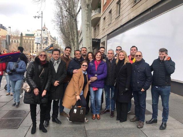 """Miguel Sánchez: """"Hoy miles de españoles hemos dicho 'sí' a la Constitución y la Justicia, hemos dicho alto y claro que queremos votar"""", Foto 1"""