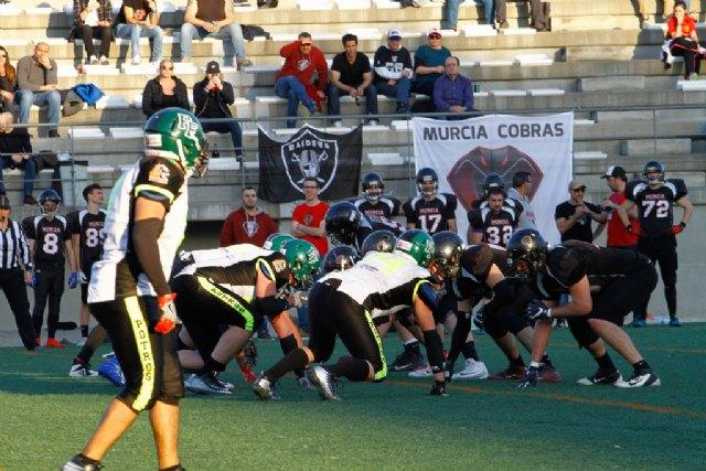 Murcia Cobras 41 - 0 Fuengirola Potros, Foto 1