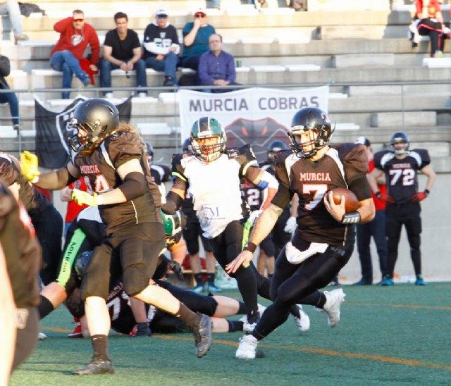 Murcia Cobras 41 - 0 Fuengirola Potros, Foto 2