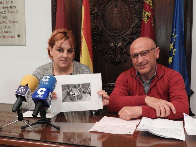 IU-Verdes Lorca denuncia que los 14 millones para el Rafael Méndez prometidos en campaña electoral por el PP se quedan en 3,4 - 1, Foto 1
