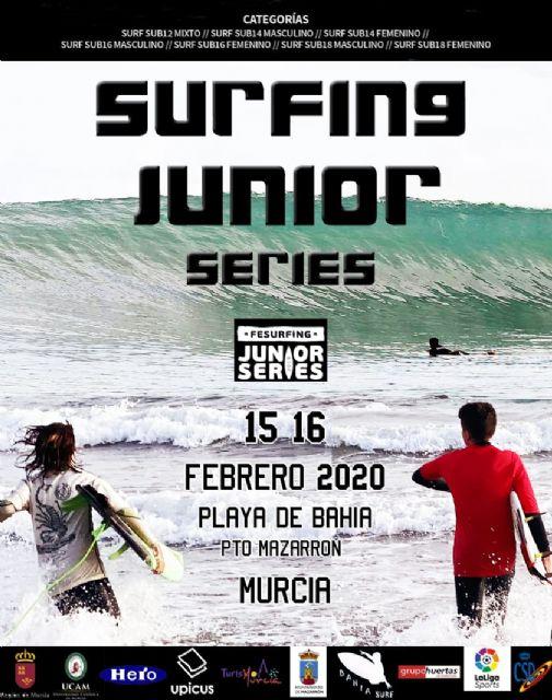 Mazarrón acogerá el estreno de la Fesurfing junior series en la Región de Murcia y en el Mediterráneo - 1, Foto 1