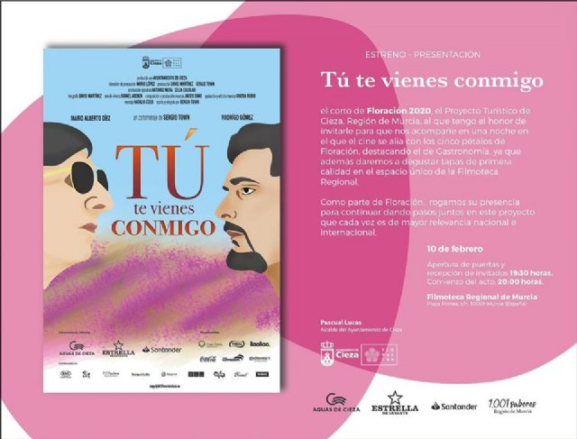 La Filmoteca Regional de Murcia acoge hoy el estreno-presentación del corto Tú te vienes conmigo - 1, Foto 1