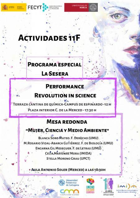 La UMU con el Día Internacional de la Mujer y la Niña en la Ciencia - 1, Foto 1