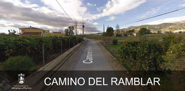 Licitadas las obras de mejora de los caminos Ramblar y Olmillo, Foto 1
