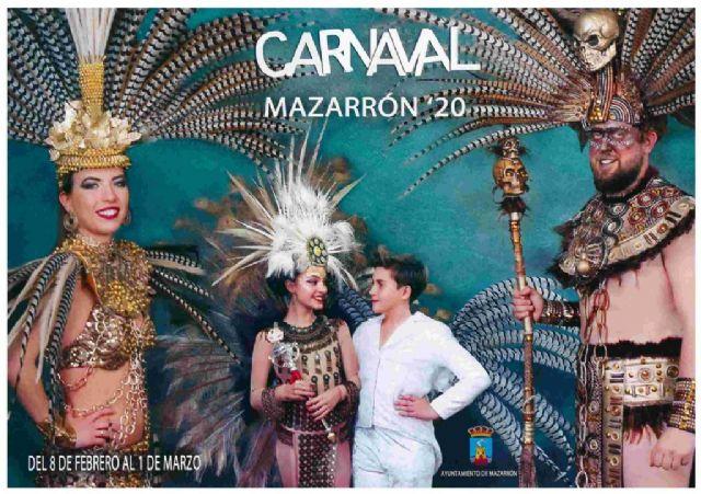 Mazarrón presenta las novedades de su Carnaval durante una divertida cena de convivencia de peñas, Foto 1
